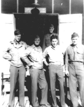 Litter Plat personnel A/363d Med Bn Camp Van Dorn 1944