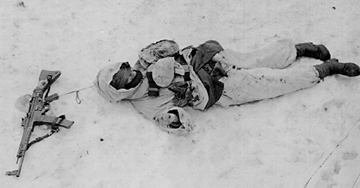 German soldier KIA - Ostheim, France Jan 45