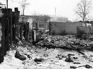 Jebsheim France after the battle, Jan 45