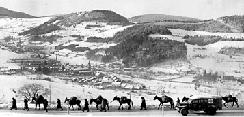 Algerian troops in the Vosges Mountains- Dec 44