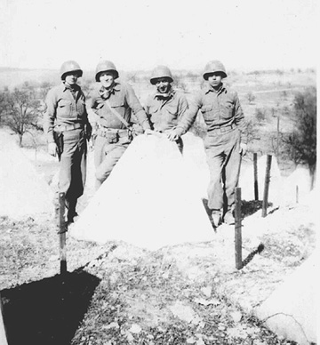 563d Sig Co Personnel at the Siegfried Line