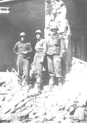 563d Sig Company personnel in Bliebransbach