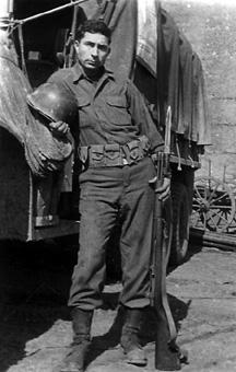 Vaughn 563d Sig Co 1945
