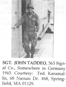 Taddeo, 563d Sig Co
