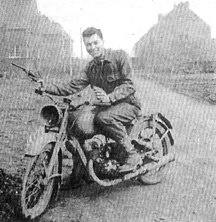Harold O'Neill 563d Sig Co Volkstrom, Germany 1945