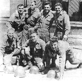 563d Signal 2d Team Germany 1945