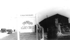 Gittelman, 63d Recon Troop, Cp Van Dorn, MS 1944
