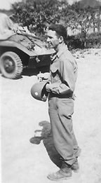 Lt Veron, 63d Recon Trp Germany May 1945