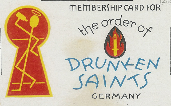 Membership Card 63rd Recon Trp, Germany June 1945