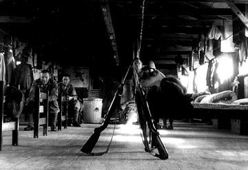Barracks life- A/861st FA Bn Cp Van Dorn MS