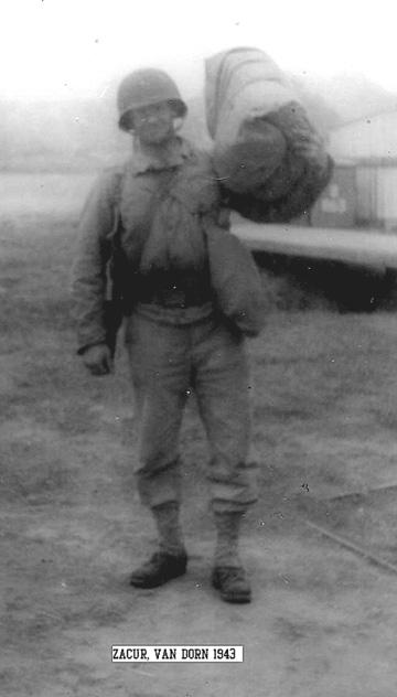 Zacur, B Btry 863d FA Cp Van Dorn, MS 1943