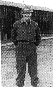 Grover von Pentz, Med Det 863d FA Cp Van Dorn, MS Mar 44