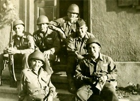 Soldiers, AT/254th Inf Regt, Germany 1945