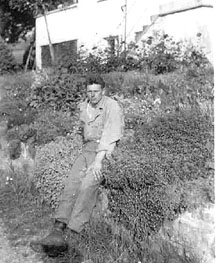 Bob Anderson B/255th Infantry Germany 1945
