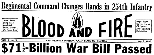 Blood and Fire 2 Jul 43