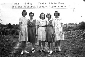Wives of Cp Van Dorn Soldiers, Centreville, MS 1943
