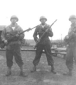 G/253d Inf soldiers Cp Van Dorn MS 1944