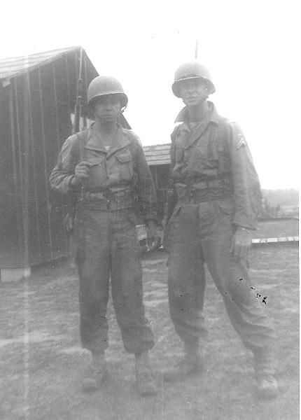 G/253d soldiers Cp Van Dorn MS 1944