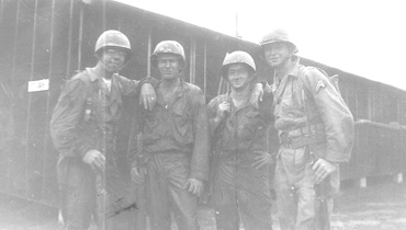 G/253d Inf soldiers at Cp Van Dorn, MS 1944