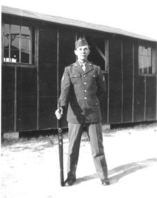 Sgt Miller G/253d inf Cp Van Dorn MS 1944