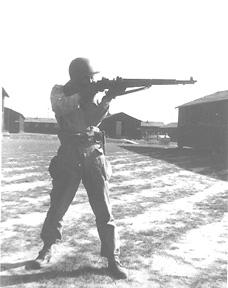 Soldier G/253d Inf Cp Van Dorn MS 1944