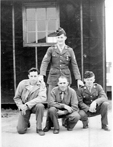 Soldiers from 2d Platoon G/253d Inf Cp Van Dorn MS 1944