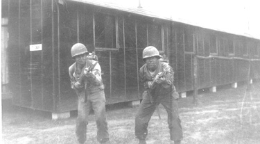 G/253d Inf soldiers at Cp Van Dorn MS 1944