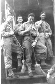 G/253d Inf soldiers, Cp Van Dorn MS 1944