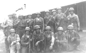 2d Platoon G/253d Inf Cp Van Dorn MS 1944
