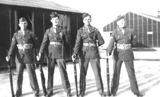 Soldiers 2d Plat G/253d Inf Cp Van Dorn MS 1944