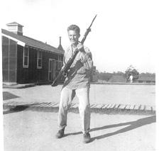 T/Sgt Yonkers G/253d Inf Cp Van Dorn MS 1944
