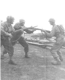 Soldiers G/253d Inf Cp Van Dorn, MS 1944