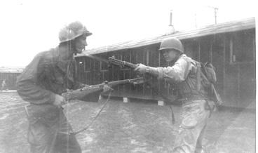 Soldiers G/253d Inf Cp Van Dorn Ms 1944