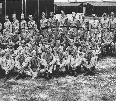 4th Repl Training Group Cp Van Dorn, MS 1944
