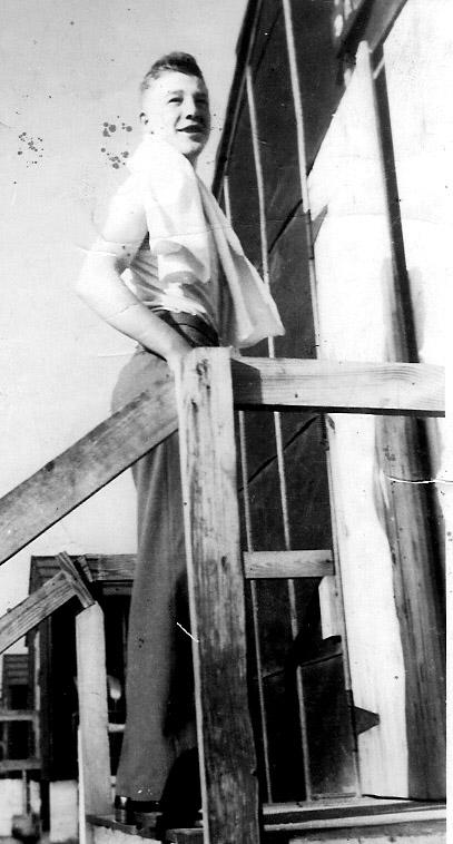 Clark A/253d Inf Cp Van Dorn, MS 1943