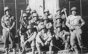 2d Squad 3d Plat A/253d Inf Cp Van Dorn, MS 1943