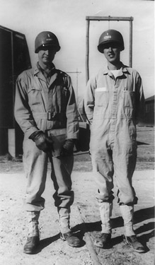 Walker and Davis A Company 253d Infantry Cp Van Dorn, MS 1943