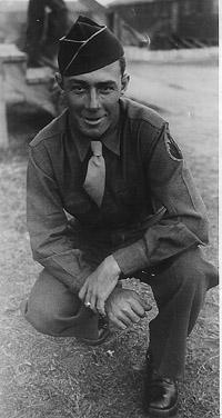 Poethkow A/253d Inf Cp Van Dorn, MS 1943