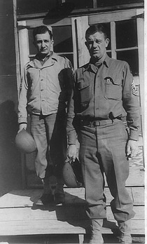 George and Reda A/253d Inf Cp Van Dorn, MS 1943