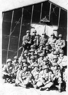 3d Plat A Co 253d Inf Cp Van Dorn, MS 1943