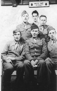 Soldiers A/253d Infantry Cp Van Dorn MS 1943