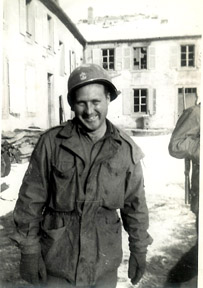 1stSgt Campbell HqCo 1st Bn 253d Inf- France 1945