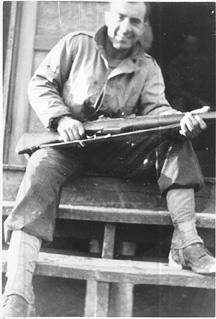 S/Sgt Karambetsos E/253d Inf Cp Van Dorn MS 1944