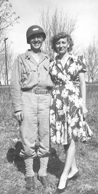 Soper and wife in Centreville, MS 1943