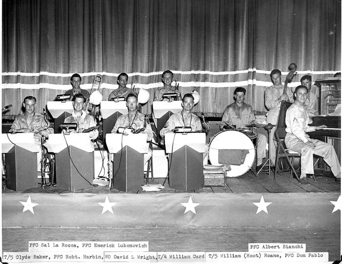 63d Inf Div Dance Band Cp Van Dorn, MS