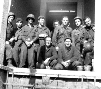 63d Band Members Sarreguemines France 1945