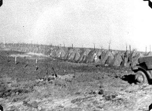 63d Inf Div approaches the Siegfried Line- Mar 1945
