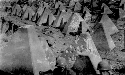 Dragons Teeth of the Siegfried Line Mar 45