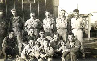 Hq Co 254th Inf troops at Cp Van Dorn, MS 1944