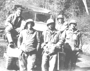 Cannon Co 254th Inf soldiers, Germany 1945